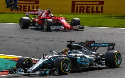 Hamilton vince a Spa e accorcia su Vettel