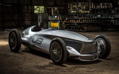 Infiniti Prototype 9 Race Car: passato futuro