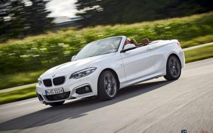 BMW Serie 2 Coupé- Serie 2 Cabrio: Restyling di metà percorso