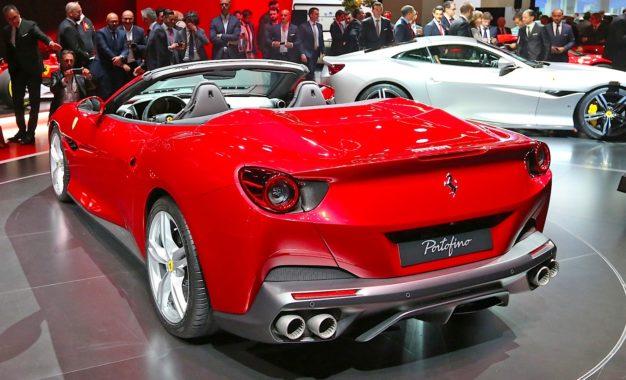 Ferrari Portofino. Un capolavoro di tecnica e di design
