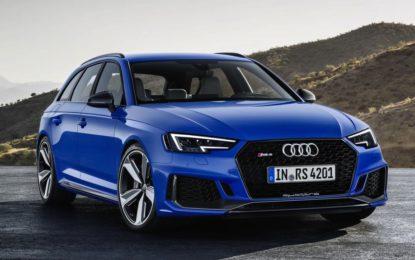 Audi RS 4 Avant: la super potenza degli anelli
