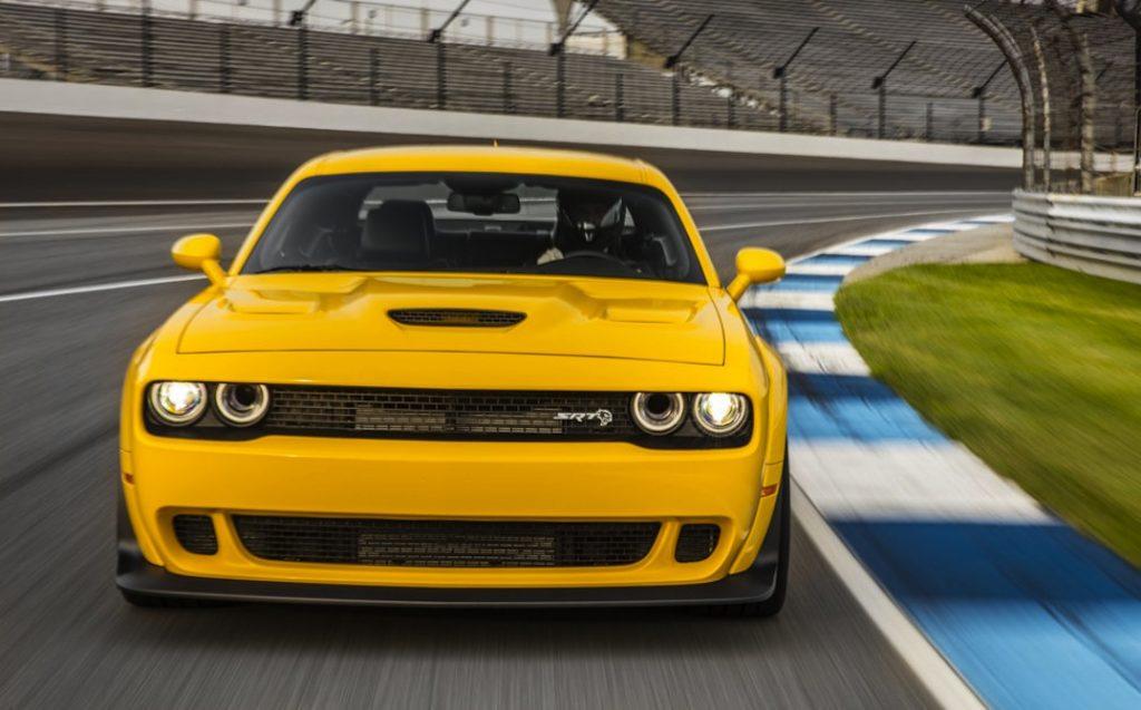 Dodge Challenger SRT Hellcat Widebody: sgommate cattive - MotorAge ...