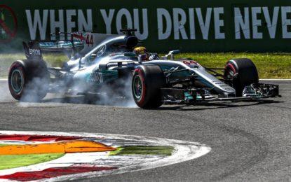 Il sacco di Monza: Hamilton va in testa al Mondiale