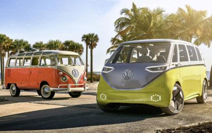 Volkswagen: dal concept I.D. BUZZ nascerà il Bulli elettrico