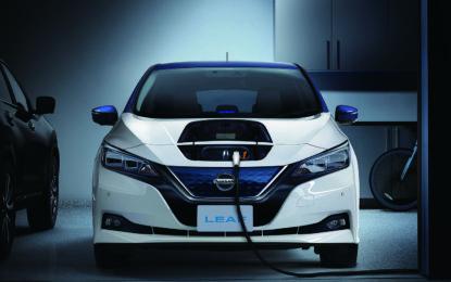 Nissan Leaf: ottima la seconda!