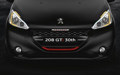 Peugeot 208 GTI più sportiva di sempre