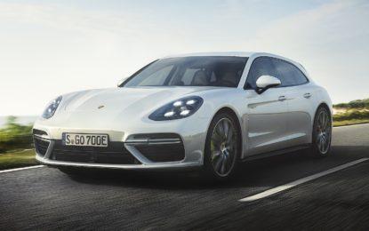 Porsche Panamera Turbo S E-Hybrid Sport Turismo: Ecologia alla massima potenza