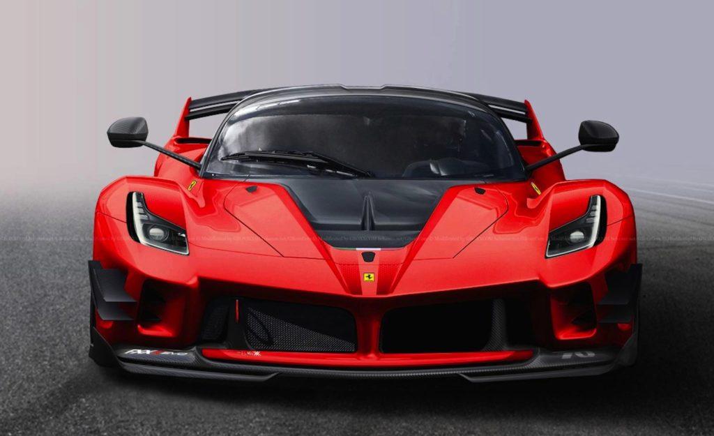 Ferrari La Ferrari >> Una Ferrari Fxx K Evo Omologata Per Circolare Su Strada