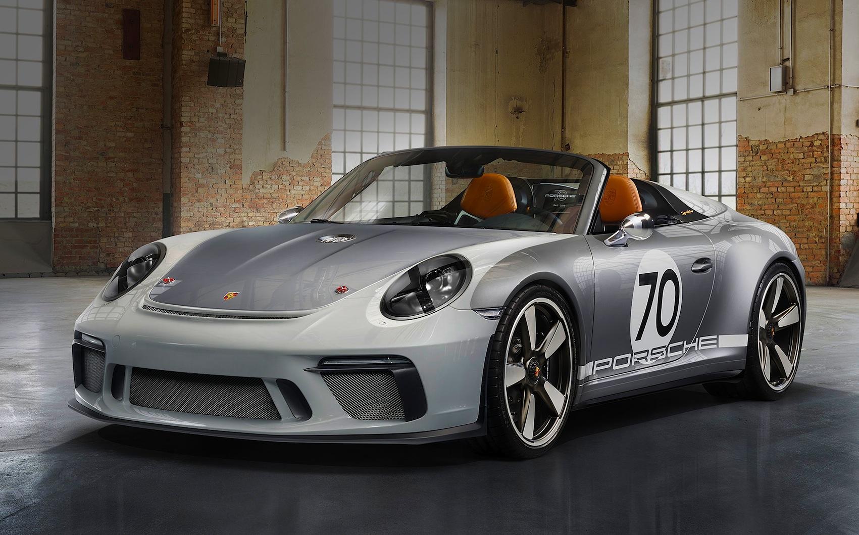 Porsche 911 Speedster Concept 500 Cv Di Sportiva Estrema