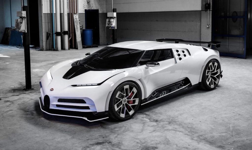 Bugatti Centodieci, 1600 CV per ricordare la EB110