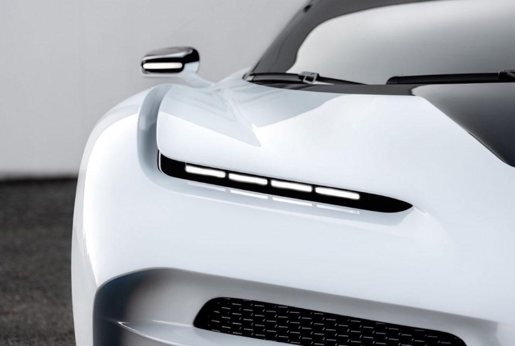 Bugatti Centodieci dettatglio