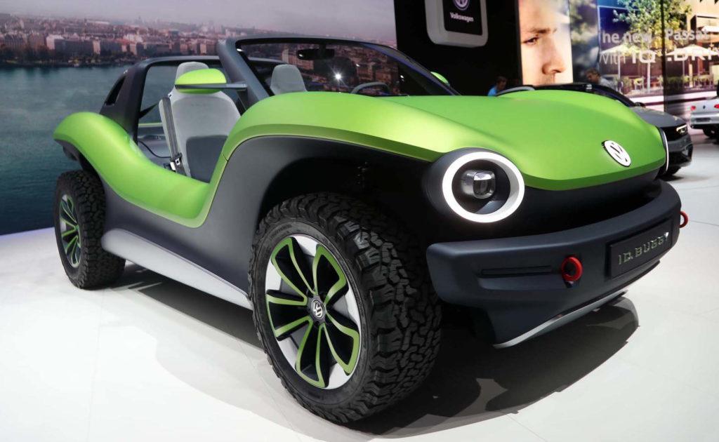 Volkswagen ID Buggy, in california è già un idolo