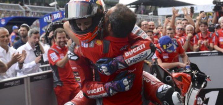 Festa box Ducati