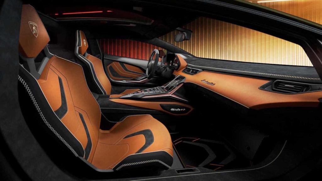 Lamborghini Siàn interni