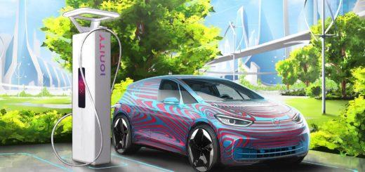 Volkswagen ID.3 Ionity charging