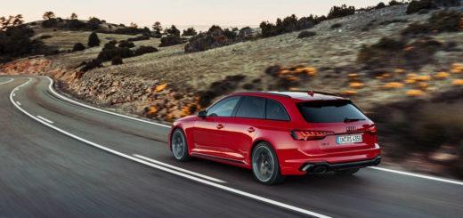 Audi RS4 Avant quattro model year 2020