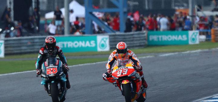 Quartararo, Marquez, MotoGP Thai 2019