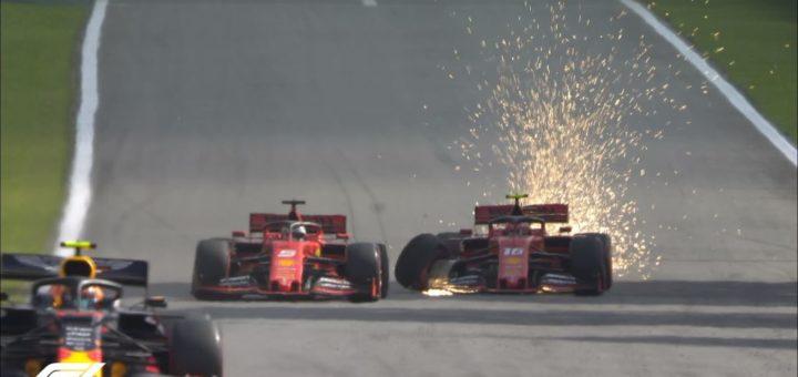 Incidente Ferrari, GP Brasile Formula 1 2019, Interlagos
