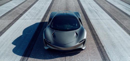 McLaren Speedtail high-speed test, Kennedy Space Center, Florida, USA, Johnny Bohmer Proving Grounds, 403 Km/h, 250 mph