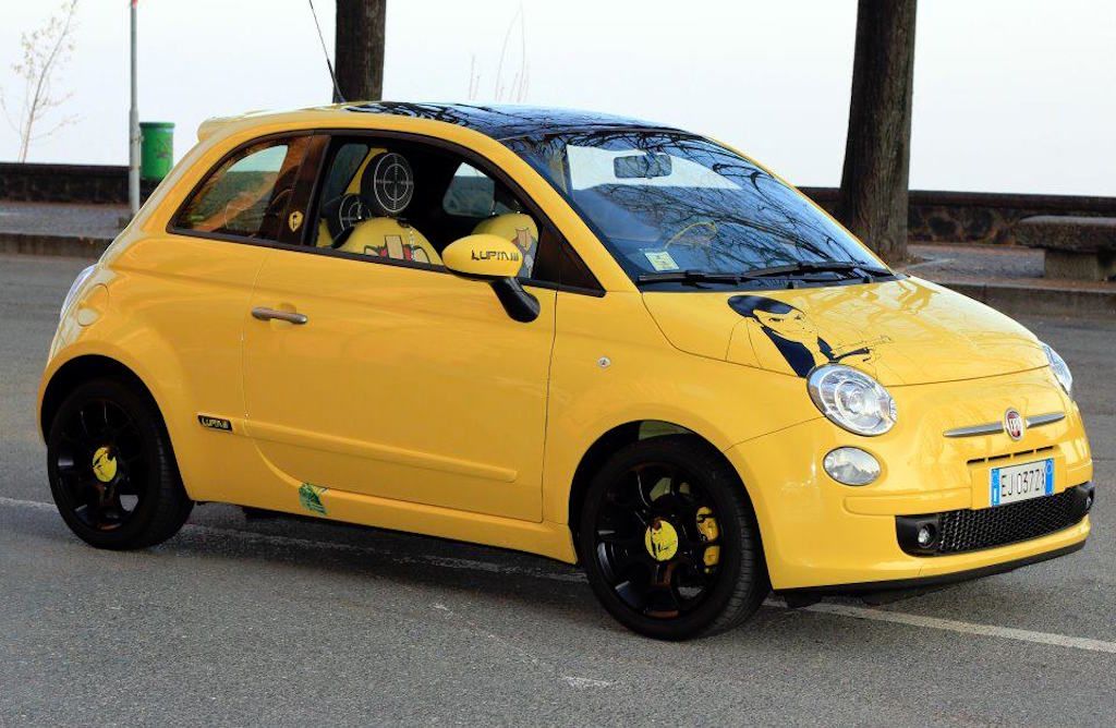 Fiat 500 Lupin Special Edition by Black, Torino