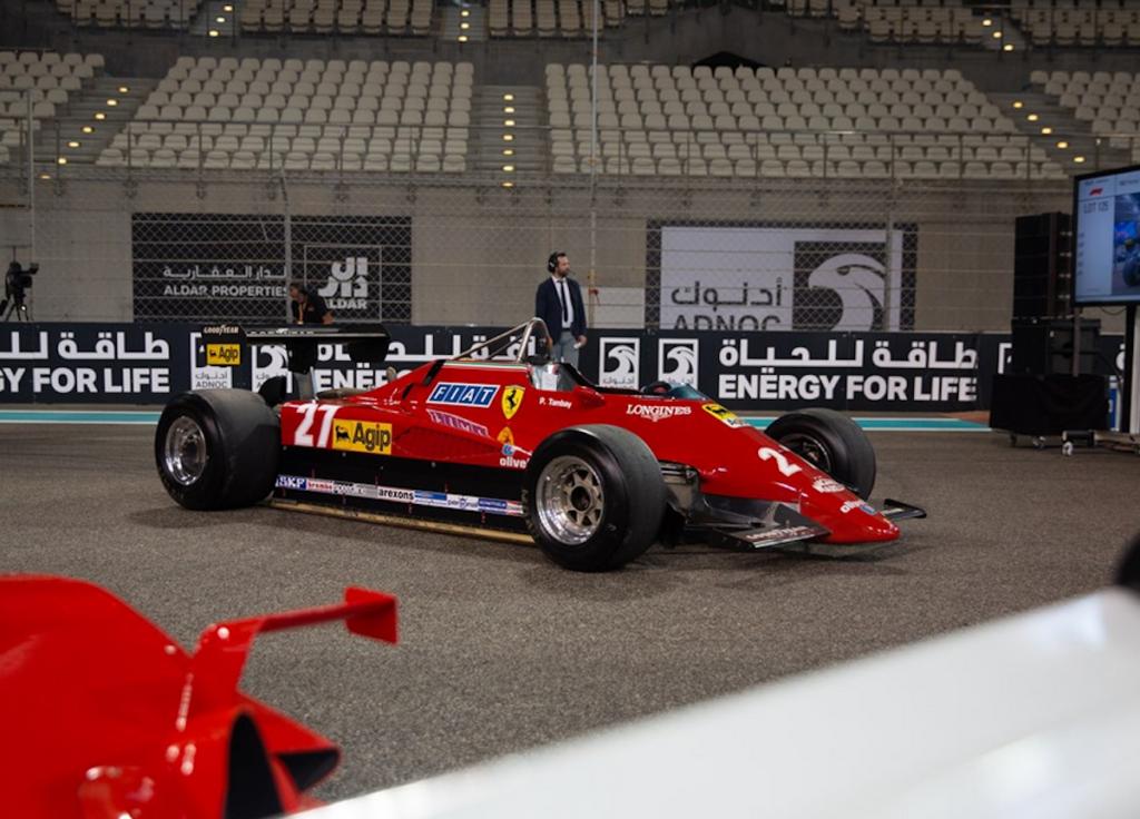 Ferrari F1, RM Sotheby's Race-Cars auction, Yas Marina