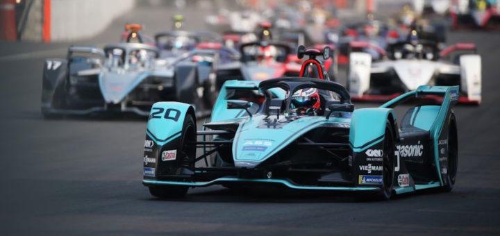 Mitch Evans, Jaguar Panasonic, E-Prix del Messico 2020. Formula E, Città del Messico