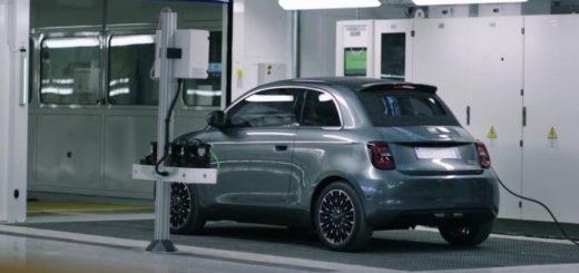 Stabilimento FCA in Italia, nuova Fiat 500 elettrica