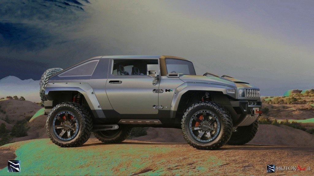 Rendering by MotorAge del progetto Hummer