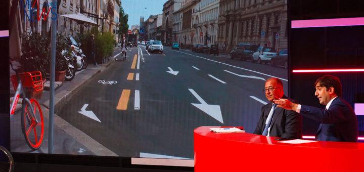 Forum sulla mobilità, corsie ciclabili a Milano