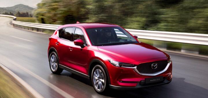 Mazda CX-5 2020 nei test