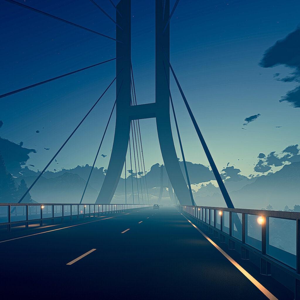 Ponte in Kuwait - Progetto ANDROMEDA di SMA Road Safety