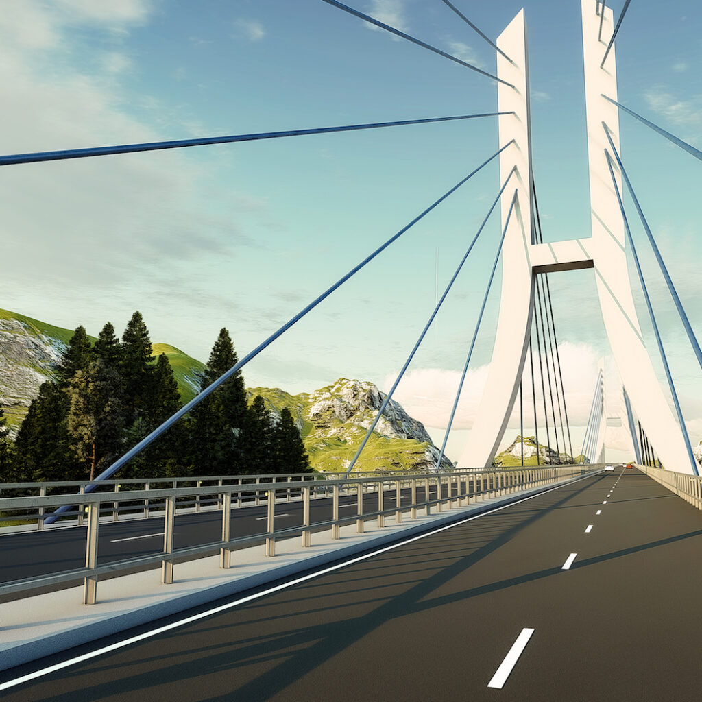 Progetto Andromeda, ponte in Kuwait