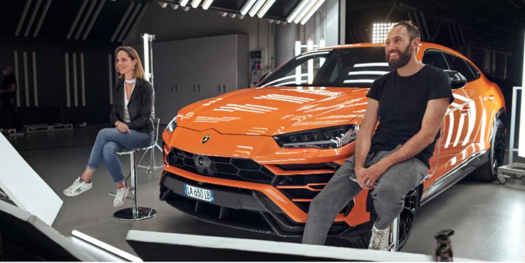 Lamborghini Urus in Arancio Borealis gamma 2021 Pearl Capsule