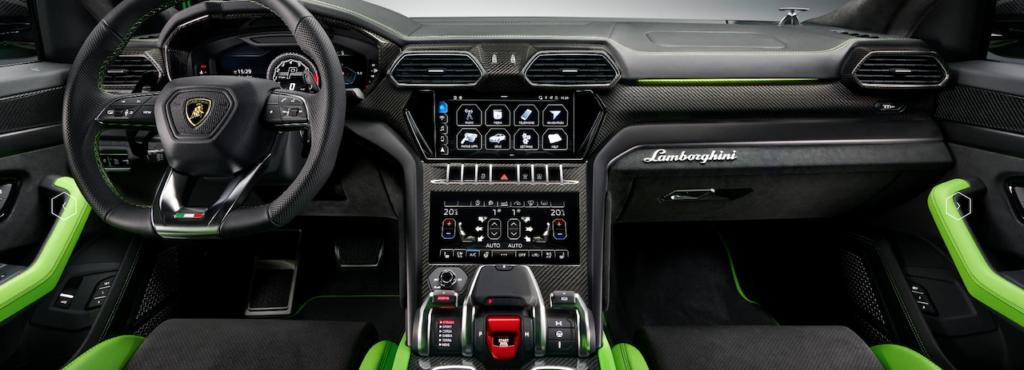 Lamborghini Urus interni MY 2021 programma Pearl Capsule