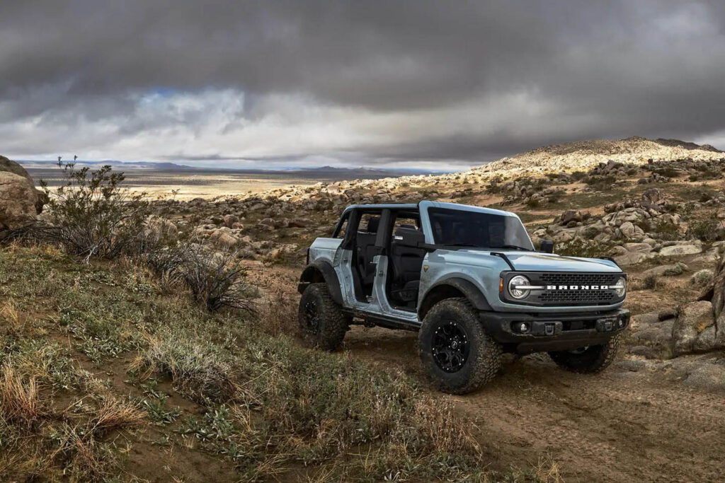 Ford Bronco without doors