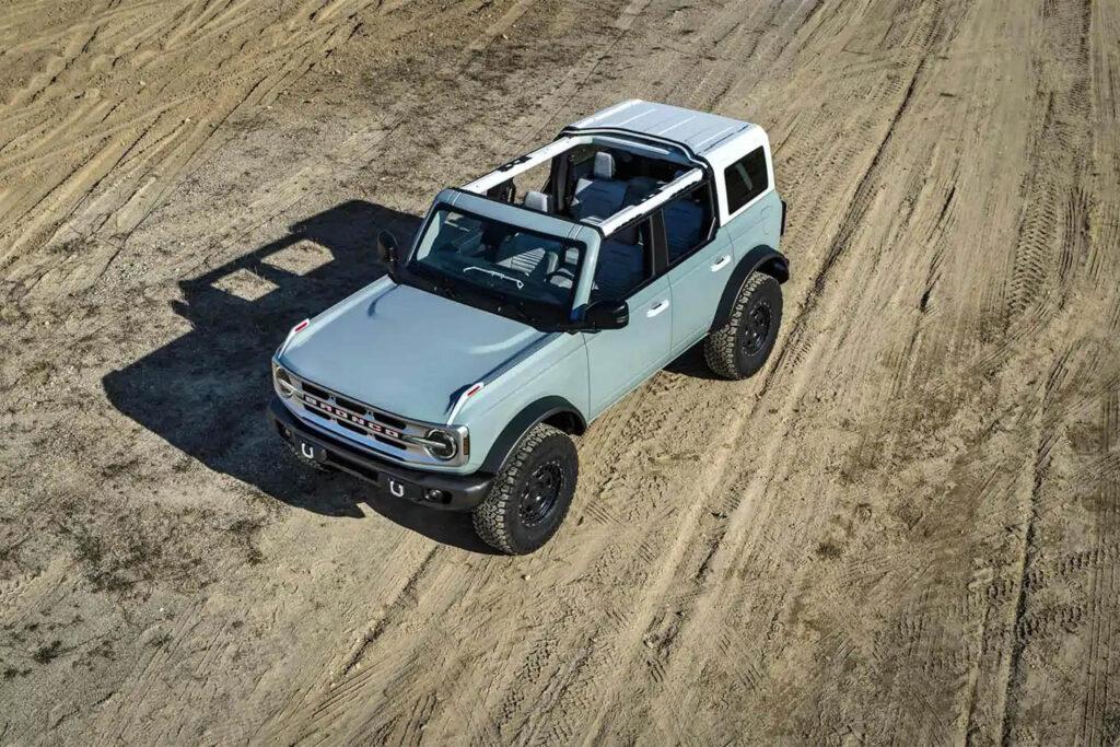 Modularità per Ford Bronco 2021