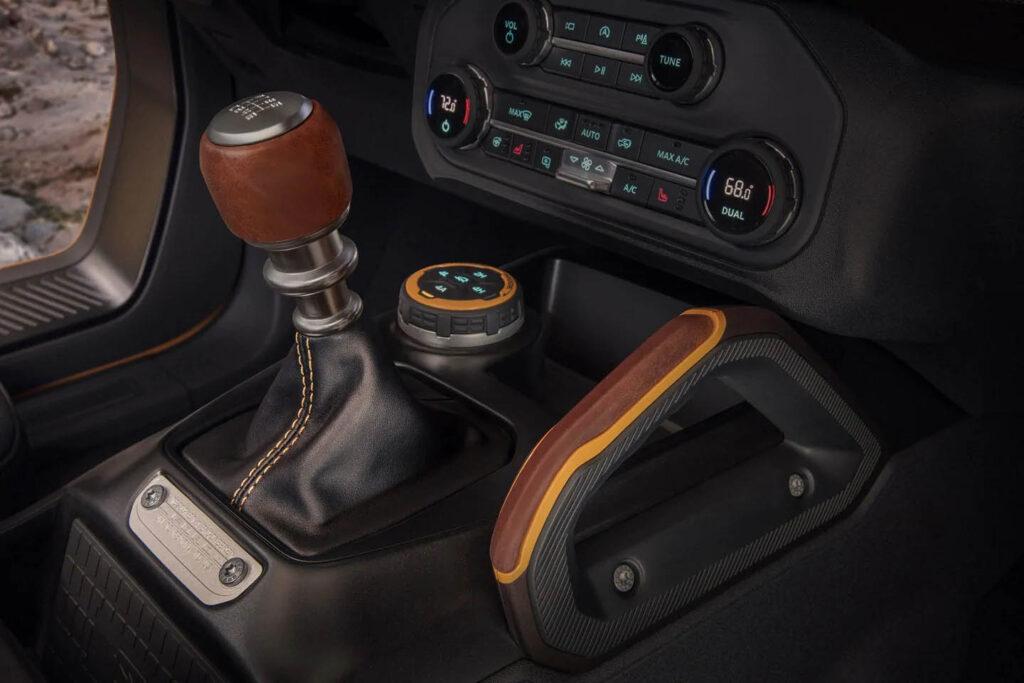 7 modalità di trazione selezionabili per la guida del nuovo Ford Bronco 2021