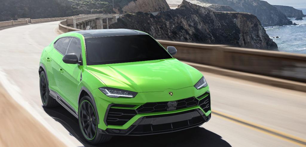 Lamborghini Urus in Verde Mantis - nuovo colore gamma 2021 programma Pearl Capsule