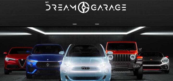 My Dream Garage il garage virtuale di Fiat e Leasys di FCA Bank per selezionare da una App il modello da avere in uso, alternativamente