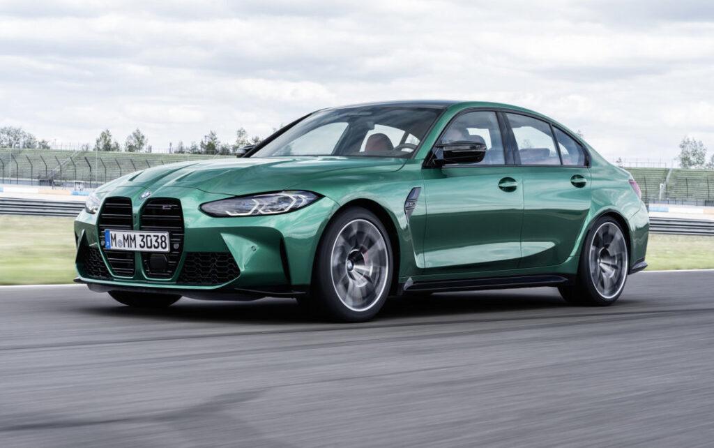 Le nuove BMW M3 e M4 2021 nella versione d'attacco vantano 480 a 510 CV di potenza massima.
