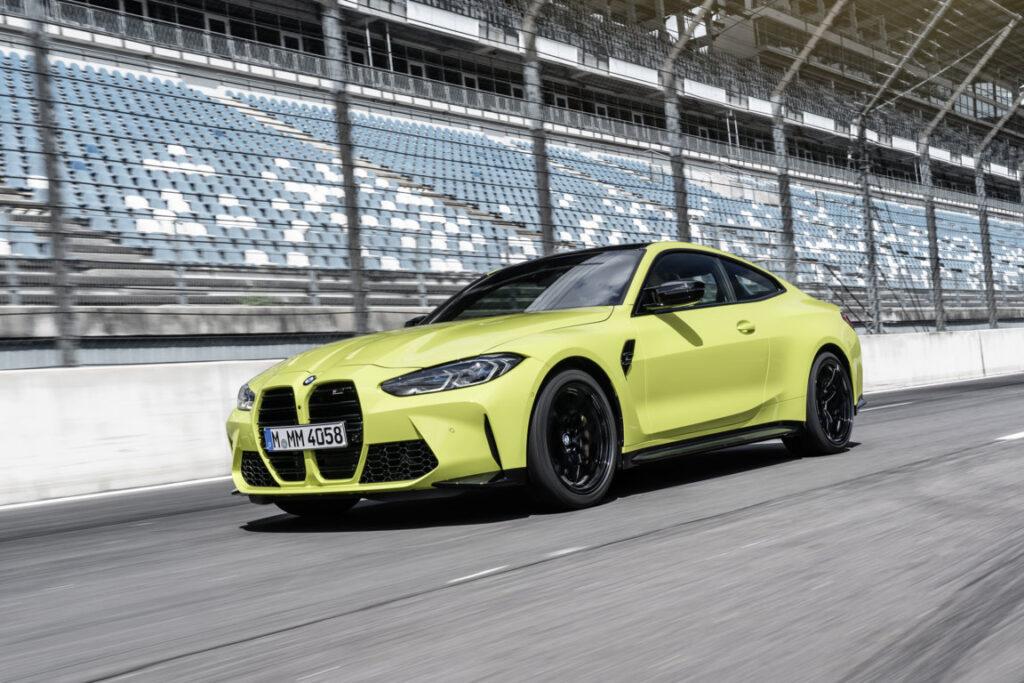 Le nuove BMW M3 e M4 2021 nella versione d'attacco vantano 480 a 510 CV di potenza massima