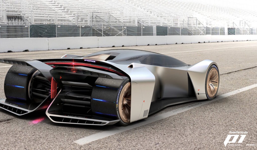 ProjectP1: racing car Ford virtuale scelta dai video gamers