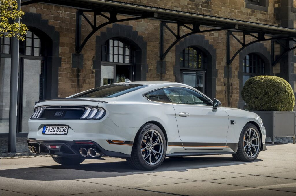 Ford Mustang Mach 1 arriva nel Vecchio Continente