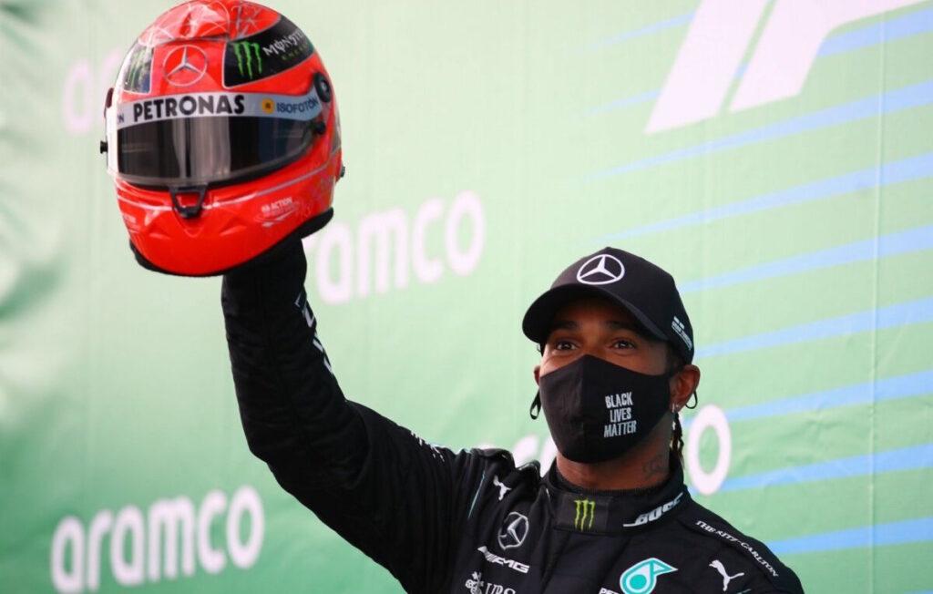 F1, Gp dell'Eifel: Hamilton come Schumacher