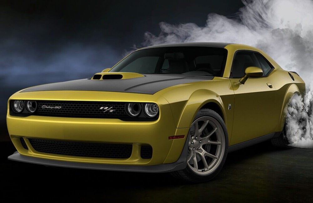 Dodge Challenger 50th Anniversary Edition: American Beauty