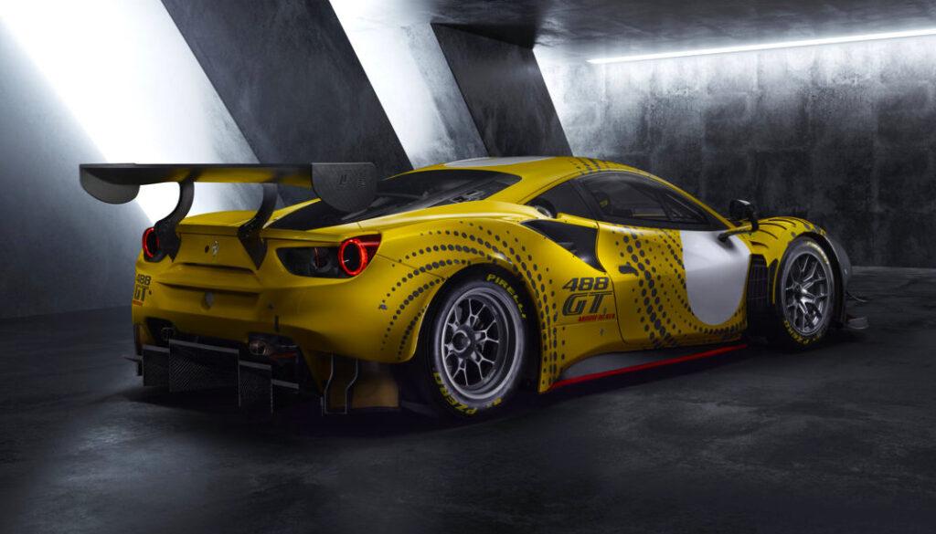 Ferrari 488 GT Modificata: evoluzione di un'icona dei circuiti
