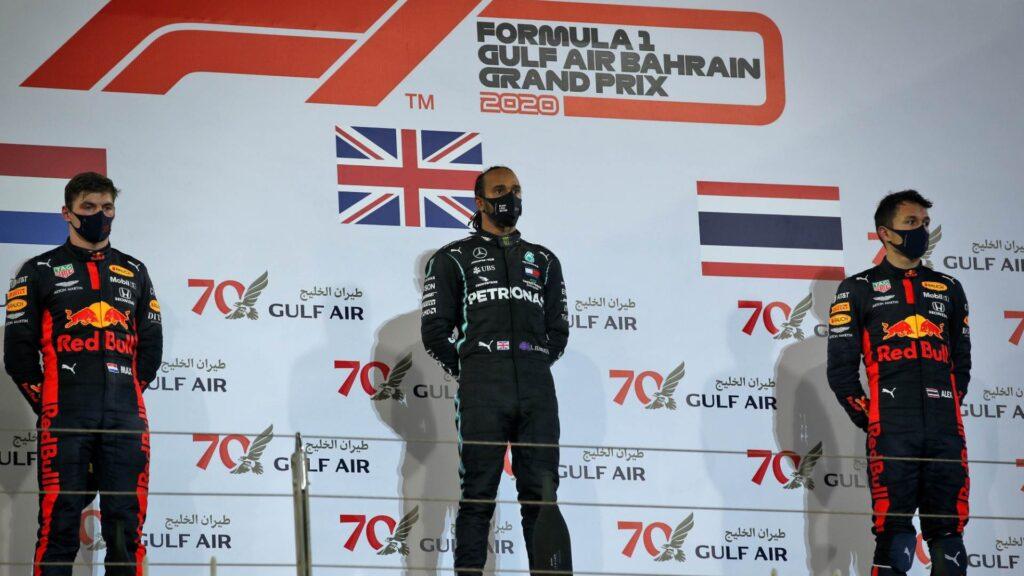 Al Gran Premio del Bahrein ha vinto il Campione del Mondo Lewis Hamilton su Mercedes