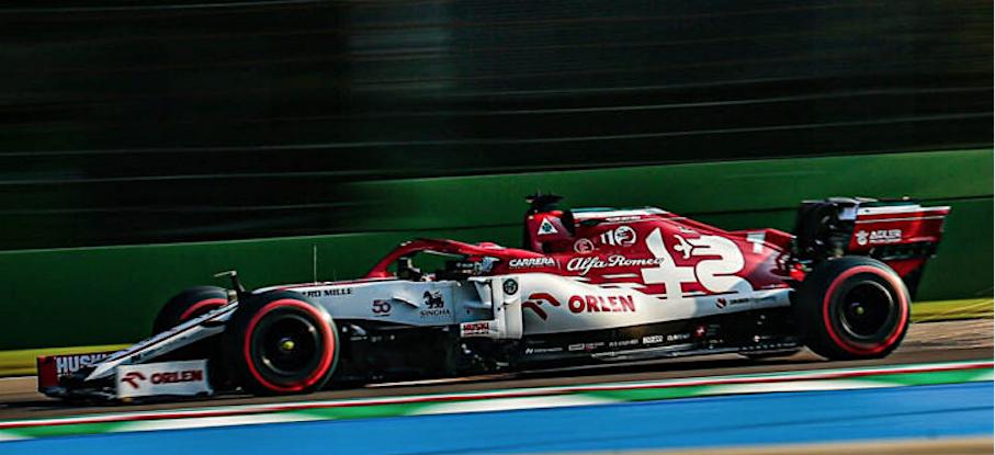 Doppi punti per l'Alfa Romeo al Gran Premio dell'Emilia Romagna