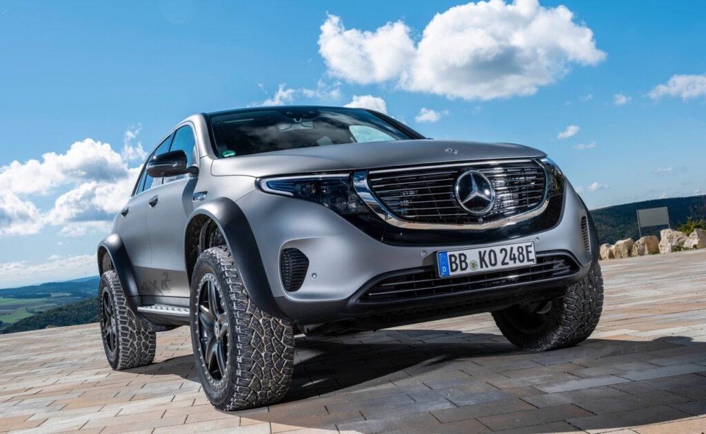Mercedes EQC 4x4 2: prove tecniche per il futuro