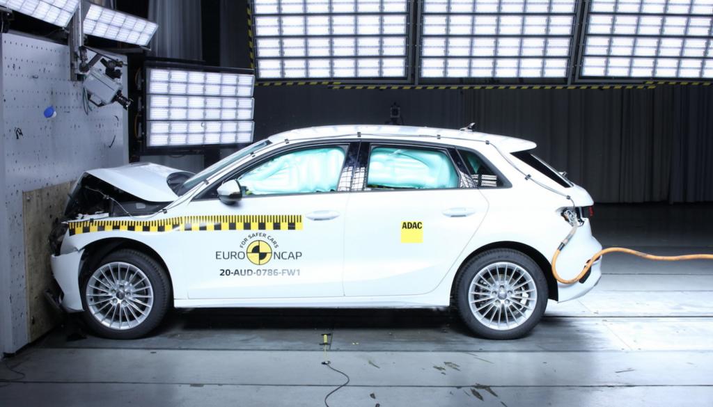 Test Euro NCAP Audi A3 Sportback: 5 stelle